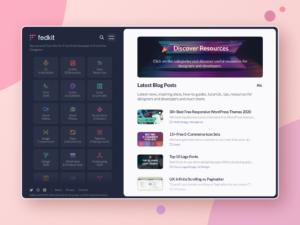 Tasarımcılar ve Yazılımcılar İçin Faydalı Bağlantılar Sitesi: Fedkit.com